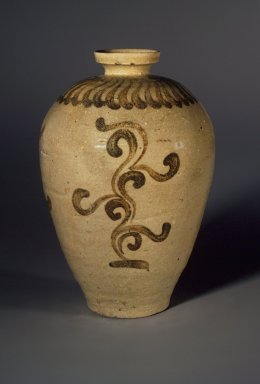<em>Vase</em>, 12th century. Porcelaneous stoneware with celadon glaze, Height: 8 3/8 in. (21.3 cm). Brooklyn Museum, Gift of Mr. and Mrs. Robert M. Fomon, 78.199. Creative Commons-BY (Photo: Brooklyn Museum, 78.199.jpg)
