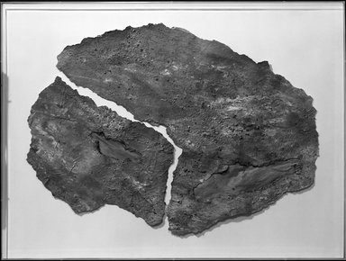Beth Ames Swartz (American, born 1936). <em>Torah Scroll #7</em>, 1978. Mixed media on layered paper, frame: 30 1/4 x 40 1/4 in. (76.8 x 102.2 cm). Brooklyn Museum, Gift of Ellen Terry Lemer, 80.124. © artist or artist's estate (Photo: Brooklyn Museum, 80.124_bw.jpg)