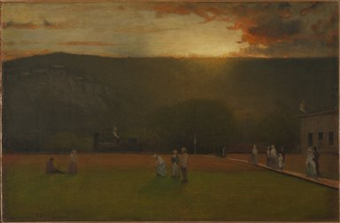 George Inness (American, 1825-1894). <em>The Rigor of the Game, Kearsarge Hall, North Conway, New Hampshire</em>, ca. 1875. Oil on canvas, 19 15/16 x 30 1/2 in. (50.6 x 77.5 cm). Brooklyn Museum, Gift of Whitney B. Atwood, 80.189 (Photo: Brooklyn Museum, 80.189_PS9.jpg)