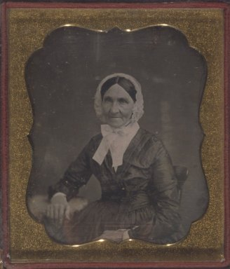 Unknown. <em>[Untitled] (Portrait of an Older Woman)</em>, ca. 1850's. Daguerreotype Brooklyn Museum, Gift of Mrs. Harold J. Roig, 80.231.9 (Photo: Brooklyn Museum, 80.231.9.jpg)