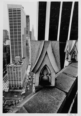 Harry Wilks (American, born 1942). <em>View from 130 W.42</em>, 1979. Gelatin silver photograph Brooklyn Museum, Gift of Matilda and Phillip Zinn, 80.305.3. © artist or artist's estate (Photo: Brooklyn Museum, 80.305.3_PS2.jpg)