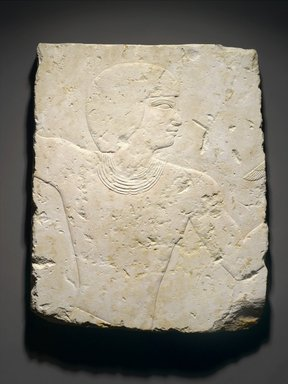 <em>Relief of a Fowler</em>, ca. 1539-1425 B.C.E. Limestone, 20 1/2 x 16 9/16 x 1 in., 12.5 lb. (52 x 42 x 2.5 cm, 5.66kg). Brooklyn Museum, Gift of Christos G. Bastis in honor of Bernard V. Bothmer, 80.38. Creative Commons-BY (Photo: Brooklyn Museum, 80.38_PS1.jpg)