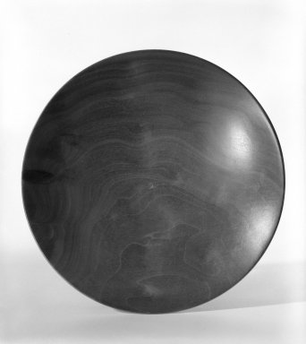 James Prestini (American, 1908-1993). <em>Bowl</em>, ca. 1943-1953. Poplar, 1 1/2 x 7 5/8 x 7 5/8 in. (3.8 x 19.4 x 19.4 cm). Brooklyn Museum, Gift of Professor James Prestini, 81.113.11. Creative Commons-BY (Photo: Brooklyn Museum, 81.113.11_bw.jpg)