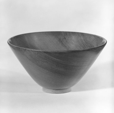 James Prestini (American, 1908-1993). <em>Bowl</em>, ca. 1943-1953. Birch wood, 2 3/8 x 4 3/8 x 4 3/8 in. (6 x 11.1 x 11.1 cm). Brooklyn Museum, Gift of Professor James Prestini, 81.113.2. Creative Commons-BY (Photo: Brooklyn Museum, 81.113.2_bw.jpg)