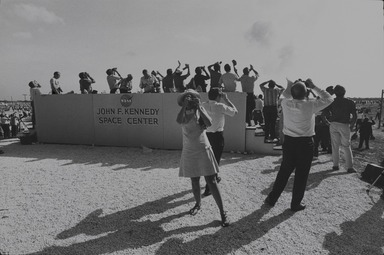 Garry Winogrand (American, 1928-1984). <em>Cape Kennedy, Florida</em>, 1969; printed 1978. Gelatin silver photograph, Sheet: 10 15/16 x 13 7/8 in. (27.8 x 35.2 cm). Brooklyn Museum, Gift of Donald T. Johnson, 81.260.14. © artist or artist's estate (Photo: , 81.260.14_PS9.jpg)