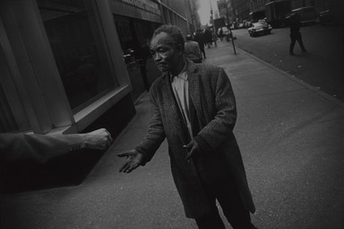 Garry Winogrand (American, 1928-1984). <em>New York City</em>, 1968, printed 1978. Gelatin silver photograph, Sheet: 10 15/16 x 13 7/8 in. (27.8 x 35.2 cm). Brooklyn Museum, Gift of Donald T. Johnson, 81.260.19. © artist or artist's estate (Photo: , 81.260.19_PS9.jpg)