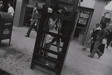 Garry Winogrand (American, 1928-1984). <em>New York City</em>, 1972, printed 1978. Gelatin silver photograph, Sheet: 10 15/16 x 13 7/8 in. (27.8 x 35.2 cm). Brooklyn Museum, Gift of Donald T. Johnson, 81.260.24. © artist or artist's estate (Photo: , 81.260.24_PS9.jpg)