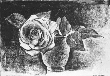 Max Weber (American, born Russia, 1881-1961). <em>Untitled Lithograph</em>, n.d. Lithograph Brooklyn Museum, Gift of Mrs. George Liberman, 81.264 (Photo: Brooklyn Museum, 81.264_bw.jpg)