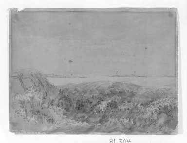 Ogden Nicholas Rood (American, 1811-1902). <em>Untitled</em>. Watercolor on paper Brooklyn Museum, Gift of Mrs. E. Ives Bartholet, 81.304 (Photo: Brooklyn Museum, 81.304_bw.jpg)