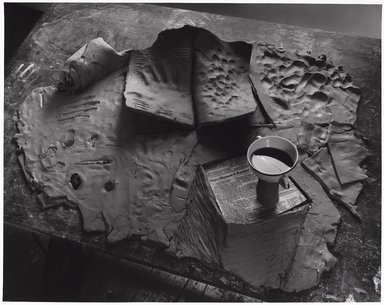 Zeke Berman (American, born 1951). <em>Current Events Series, Major Massacre</em>, 1982. Gelatin silver photograph, image: 15 1/4 x 19 1/4 in. (38.7 x 48.9 cm). Brooklyn Museum, Gift of the artist, 82.136.4. © artist or artist's estate (Photo: Brooklyn Museum, 82.136.4_PS9.jpg)