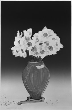 Gary Alan Bukovnik (American, born 1947). <em>Paper Whites</em>, 1982. Monotype on paper, Image: 36 3/8 x 24 3/4 in. (92.4 x 62.8 cm). Brooklyn Museum, Gift of Wendy Lang, 82.147.3. © artist or artist's estate (Photo: Brooklyn Museum, 82.147.3_bw.jpg)
