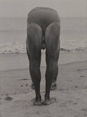 Harry Lapow (American, 1909-1982). <em>Untitled (Calisthenics)</em>, 1979. Gelatin silver photograph, sheet: 14 1/8 x 10 15/16 in. (35.9 x 27.8 cm). Brooklyn Museum, Gift of the artist, 82.148.7. © artist or artist's estate (Photo: , 82.148.7_PS9.jpg)