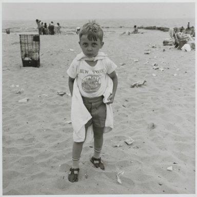 "Stephen Salmieri (American, born 1945). <em>""Coney Island,""</em> 1972. Gelatin silver photograph Brooklyn Museum, Gift of Edward Klein, 82.201.11. © artist or artist's estate (Photo: Brooklyn Museum, 82.201.11_PS2.jpg)"