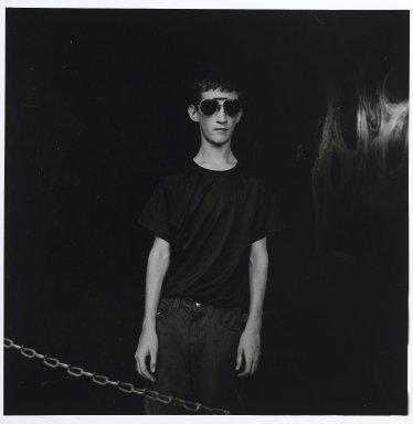"Stephen Salmieri (American, born 1945). <em>""Coney Island,""</em> 1969. Gelatin silver photograph Brooklyn Museum, Gift of Edward Klein, 82.201.20. © artist or artist's estate (Photo: Brooklyn Museum, 82.201.20_PS2.jpg)"