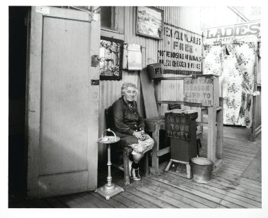 Stephen Salmieri (American, born 1945). <em>Coney Island</em>, 1969. Gelatin silver photograph, Sheet: 11 x 14 in. (27.9 x 35.6 cm). Brooklyn Museum, Gift of Edward Klein, 82.201.37. © artist or artist's estate (Photo: Brooklyn Museum, 82.201.37_PS2.jpg)