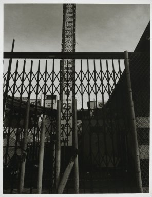 "Stephen Salmieri (American, born 1945). <em>""Coney Island,""</em> 1969. Gelatin silver photograph Brooklyn Museum, Gift of Edward Klein, 82.201.41. © artist or artist's estate (Photo: Brooklyn Museum, 82.201.41_PS2.jpg)"