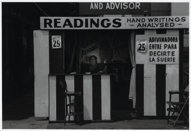 "Stephen Salmieri (American, born 1945). <em>""Coney Island,""</em> 1969. Gelatin silver photograph Brooklyn Museum, Gift of Edward Klein, 82.201.43. © artist or artist's estate (Photo: Brooklyn Museum, 82.201.43_PS2.jpg)"