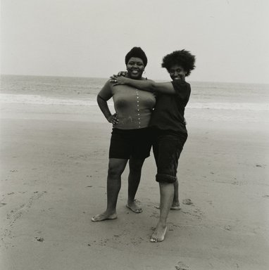 Stephen Salmieri (American, born 1945). <em>Coney Island</em>, 1972. Gelatin silver photograph, Sheet: 14 x 11 in. (35.6 x 27.9 cm). Brooklyn Museum, Gift of Edward Klein, 82.201.44. © artist or artist's estate (Photo: Brooklyn Museum, 82.201.44_PS2.jpg)