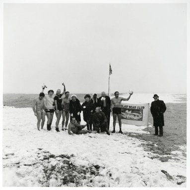 "Stephen Salmieri (American, born 1945). <em>""Coney Island,""</em> 1981. Gelatin Silver photograph, Sheet: 13 5/8 x 11 in. (34.6 x 27.9 cm). Brooklyn Museum, GIft of Edward Klein, 82.201.45. © artist or artist's estate (Photo: Brooklyn Museum, 82.201.45_PS2.jpg)"