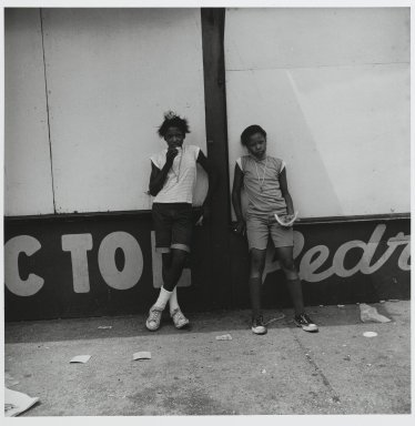 "Stephen Salmieri (American, born 1945). <em>""Coney Island,""</em> 1969. Gelatin silver photograph Brooklyn Museum, Gift of Edward Klein, 82.201.47. © artist or artist's estate (Photo: Brooklyn Museum, 82.201.47_PS2.jpg)"