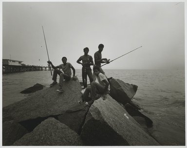 Stephen Salmieri (American, born 1945). <em>Coney Island</em>, 1971. Gelatin silver photograph, image: 8 x 10 1/8 in. (20.3 x 25.7 cm). Brooklyn Museum, Gift of Edward Klein, 82.201.48. © artist or artist's estate (Photo: Brooklyn Museum, 82.201.48_PS2.jpg)