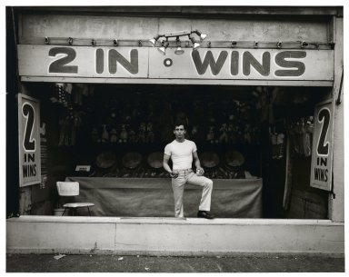 Stephen Salmieri (American, born 1945). <em>Coney Island</em>, 1969. Gelatin silver photograph, Sheet: 11 x 14 in. (27.9 x 35.6 cm). Brooklyn Museum, Gift of Edward Klein, 82.201.4. © artist or artist's estate (Photo: Brooklyn Museum, 82.201.4_PS2.jpg)