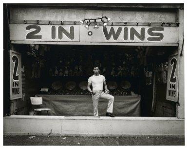 Stephen Salmieri (American, born 1945). <em>Coney Island</em>, 1969. Gelatin silver photograph, Sheet: 11 x 14 in. (27.9 x 35.6 cm). Brooklyn Museum, Gift of Edward Klein, 82.201.4. © artist or artist's estate (Photo: Brooklyn Museum, 82.201.4_PS2.jpg)