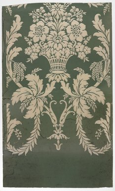 J. Z. Zuber & Cie.. <em>Wallpaper, pattern No.5082</em>, ca. 1890-1900. Paper, 19 5/8 x 32 1/2 in. (49.8 x 82.6 cm). Brooklyn Museum, Gift of Arlene M. and Thomas C. Ellis, 82.239.6 (Photo: Brooklyn Museum, 82.239.6_PS9.jpg)