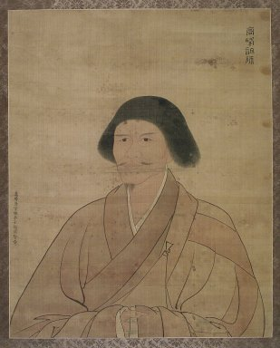 Gao Yongxian. <em>Portrait of Gaofeng Yuanmiao</em>, 1590. Ink and color on silk, With mount: 42 5/8 x 29 3/8 in. (108.3 x 74.6 cm). Brooklyn Museum, Designated Purchase Fund, 82.27 (Photo: Brooklyn Museum, 82.27.jpg)