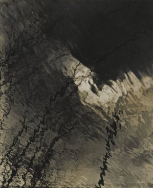 Consuelo Kanaga (American, 1894-1978). <em>Abstraction</em>, 1948. Toned gelatin silver photograph, Image: 9 1/4 x 7 1/2 in. (23.5 x 19.1 cm). Brooklyn Museum, Gift of Wallace B. Putnam from the Estate of Consuelo Kanaga, 82.65.121 (Photo: Brooklyn Museum, 82.65.121_PS2.jpg)