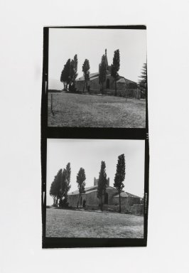 Consuelo Kanaga (American, 1894-1978). <em>[Untitled] (In France)</em>. Gelatin silver photograph, Contact sheet: 5 x 2 3/8 in. (12.7 x 6 cm). Brooklyn Museum, Gift of Wallace B. Putnam from the Estate of Consuelo Kanaga, 82.65.177 (Photo: Brooklyn Museum, 82.65.177_PS2.jpg)
