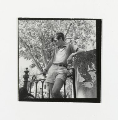 Consuelo Kanaga (American, 1894-1978). <em>[Untitled] (Young Man)</em>. Gelatin silver photograph, 2 1/2 x 2 1/2 in. (6.4 x 6.4 cm). Brooklyn Museum, Gift of Wallace B. Putnam from the Estate of Consuelo Kanaga, 82.65.178 (Photo: Brooklyn Museum, 82.65.178_PS2.jpg)