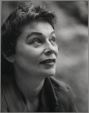 Consuelo Kanaga (American, 1894-1978). <em>[Untitled] (Rose Trent)</em>. Gelatin silver photograph, 9 3/4 x 7 5/8 in. (24.8 x 19.4 cm). Brooklyn Museum, Gift of Wallace B. Putnam from the Estate of Consuelo Kanaga, 82.65.17 (Photo: Brooklyn Museum, 82.65.17_PS2.jpg)