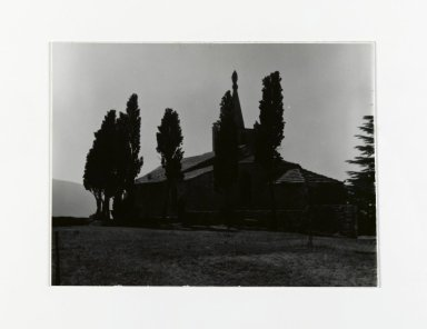 Consuelo Kanaga (American, 1894-1978). <em>[Untitled]</em>, 1967. Gelatin silver photograph, 3 7/8 x 5 in. (9.8 x 12.7 cm). Brooklyn Museum, Gift of Wallace B. Putnam from the Estate of Consuelo Kanaga, 82.65.198 (Photo: Brooklyn Museum, 82.65.198_PS2.jpg)