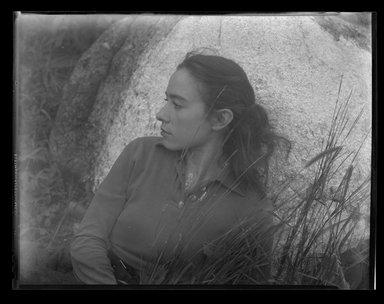 Consuelo Kanaga (American, 1894-1978). <em>[Untitled]</em>. Negative, 8 1/4 x 6 1/4 in. (21 x 15.9 cm). Brooklyn Museum, Gift of Wallace B. Putnam from the Estate of Consuelo Kanaga, 82.65.1991 (Photo: Brooklyn Museum, 82.65.1991.jpg)