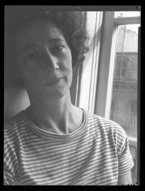 Consuelo Kanaga (American, 1894-1978). <em>[Untitled]</em>. Negative, 8 1/4 x 6 1/4 in. (21 x 15.9 cm). Brooklyn Museum, Gift of Wallace B. Putnam from the Estate of Consuelo Kanaga, 82.65.2005 (Photo: Brooklyn Museum, 82.65.2005.jpg)