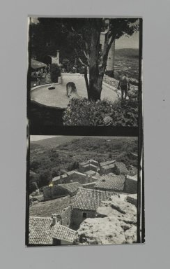 Consuelo Kanaga (American, 1894-1978). <em>[Untitled] (Landscapes)</em>. Gelatin silver photograph, Contact sheet: 4 5/8 x 2 3/8 in. (11.7 x 6 cm). Brooklyn Museum, Gift of Wallace B. Putnam from the Estate of Consuelo Kanaga, 82.65.206 (Photo: Brooklyn Museum, 82.65.206_PS2.jpg)