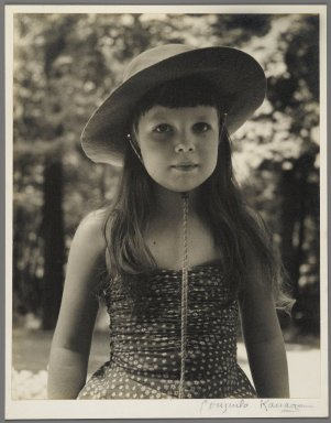Consuelo Kanaga (American, 1894-1978). <em>[Untitled] (Gretchen)</em>. Gelatin silver photograph, 9 3/4 x 7 3/4 in. (24.8 x 19.7 cm). Brooklyn Museum, Gift of Wallace B. Putnam from the Estate of Consuelo Kanaga, 82.65.2239 (Photo: Brooklyn Museum, 82.65.2239_PS2.jpg)