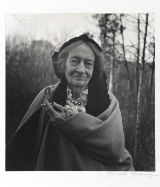 Consuelo Kanaga (American, 1894-1978). <em>[Untitled] (Amy Murray)</em>. Toned gelatin silver photograph, 11 x 10 1/2 in. (27.9 x 26.7 cm). Brooklyn Museum, Gift of Wallace B. Putnam from the Estate of Consuelo Kanaga, 82.65.2246 (Photo: Brooklyn Museum, 82.65.2246_PS1.jpg)