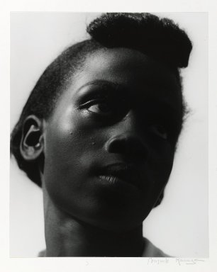 Consuelo Kanaga (American, 1894-1978). <em>[Untitled] (Young Tennessee Girl)</em>. Toned gelatin silver photograph, 12 1/8 x 9 1/2 in. (30.8 x 24.1 cm). Brooklyn Museum, Gift of Wallace B. Putnam from the Estate of Consuelo Kanaga, 82.65.2253 (Photo: Brooklyn Museum, 82.65.2253_PS1.jpg)