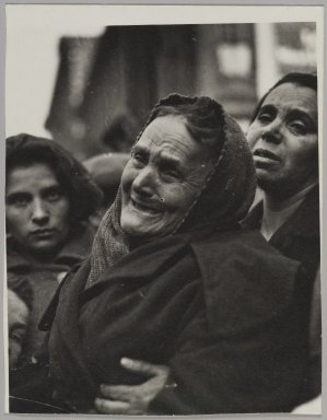 Consuelo Kanaga (American, 1894-1978). <em>Fire</em>. Gelatin silver photograph, 5 x 3 7/8 in. (12.7 x 9.8 cm). Brooklyn Museum, Gift of Wallace B. Putnam from the Estate of Consuelo Kanaga, 82.65.22 (Photo: Brooklyn Museum, 82.65.22_PS2.jpg)