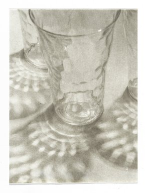 Consuelo Kanaga (American, 1894-1978). <em>[Untitled] (Light Through Glass)</em>. Gelatin silver photograph, 4 x 2 7/8 in. (10.2 x 7.3 cm). Brooklyn Museum, Gift of Wallace B. Putnam from the Estate of Consuelo Kanaga, 82.65.281 (Photo: Brooklyn Museum, 82.65.281_PS2.jpg)