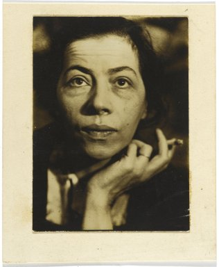 Consuelo Kanaga (American, 1894-1978). <em>Ray Paioff</em>. Gelatin silver photograph, Image: 4 x 3 in. (10.2 x 7.6 cm). Brooklyn Museum, Gift of Wallace B. Putnam from the Estate of Consuelo Kanaga, 82.65.302 (Photo: Brooklyn Museum, 82.65.302_PS2.jpg)