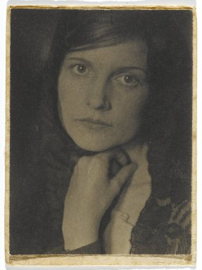 Consuelo Kanaga (American, 1894-1978). <em>May</em>, early 1920s. Toned gelatin silver photograph, Image: 4 x 3 in. (10.2 x 7.6 cm). Brooklyn Museum, Gift of Wallace B. Putnam from the Estate of Consuelo Kanaga, 82.65.328 (Photo: Brooklyn Museum, 82.65.328_PS2.jpg)