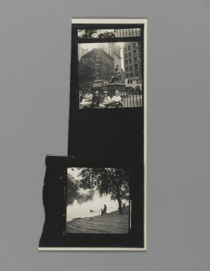 Consuelo Kanaga (American, 1894-1978). <em>[Untitled]</em>. Gelatin silver photograph, 8 x 3 3/4 in. (20.3 x 9.5 cm). Brooklyn Museum, Gift of Wallace B. Putnam from the Estate of Consuelo Kanaga, 82.65.355 (Photo: Brooklyn Museum, 82.65.355_PS2.jpg)