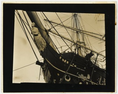 Consuelo Kanaga (American, 1894-1978). <em>[Untitled] (San Francisco Harbor, early '30's)</em>, early 1930s. Gelatin silver photograph, 8 x 10 in. (20.3 x 25.4 cm). Brooklyn Museum, Gift of Wallace B. Putnam from the Estate of Consuelo Kanaga, 82.65.35 (Photo: Brooklyn Museum, 82.65.35_PS2.jpg)
