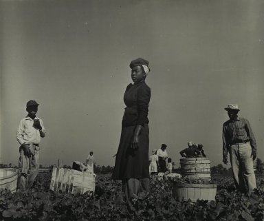 Consuelo Kanaga (American, 1894-1978). <em>[Untitled] (Tennessee Farmer)</em>. Gelatin silver photograph, 10 1/2 x 12 1/2 in. (26.7 x 31.8 cm). Brooklyn Museum, Gift of Wallace B. Putnam from the Estate of Consuelo Kanaga, 82.65.360 (Photo: Brooklyn Museum, 82.65.360_PS2.jpg)