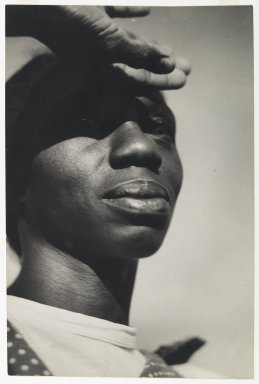 Consuelo Kanaga (American, 1894-1978). <em>Norma Bruce</em>, 1950. Gelatin silver photograph, 11 3/4 x 7 7/8in. (29.8 x 20cm). Brooklyn Museum, Gift of Wallace B. Putnam from the Estate of Consuelo Kanaga, 82.65.365 (Photo: Brooklyn Museum, 82.65.365_PS2.jpg)