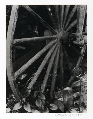 Consuelo Kanaga (American, 1894-1978). <em>[Untitled] (The End of an Era)</em>. Gelatin silver photograph, 9 1/2 x 7 1/8 in. (24.1 x 18.1 cm). Brooklyn Museum, Gift of Wallace B. Putnam from the Estate of Consuelo Kanaga, 82.65.374 (Photo: Brooklyn Museum, 82.65.374_PS2.jpg)