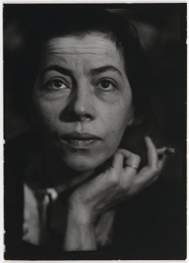 Consuelo Kanaga (American, 1894-1978). <em>[Untitled] (Ray)</em>. Toned gelatin silver photograph, Other: 4 1/8 x 3 in. (10.5 x 7.6 cm). Brooklyn Museum, Gift of Wallace B. Putnam from the Estate of Consuelo Kanaga, 82.65.381 (Photo: Brooklyn Museum, 82.65.381_PS2.jpg)